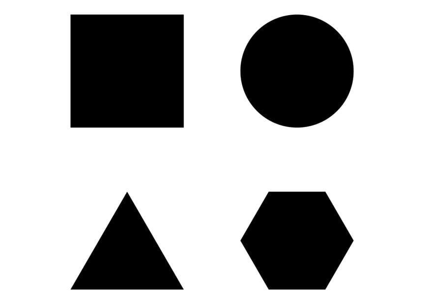 Dibujo para colorear figuras geométricas - Img 22917