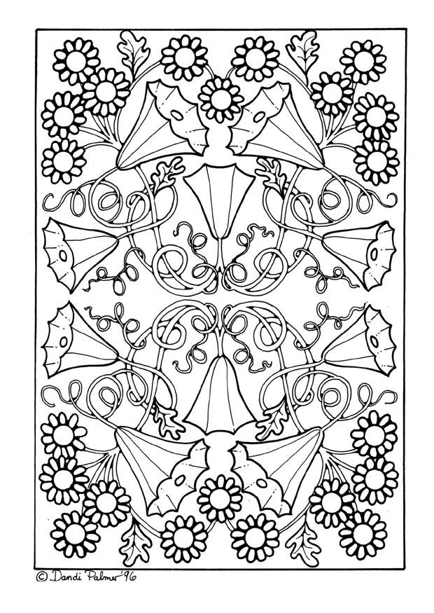 Kleurplaten Volwassenen Bloemen Dibujo Para Colorear Flores Img 9205
