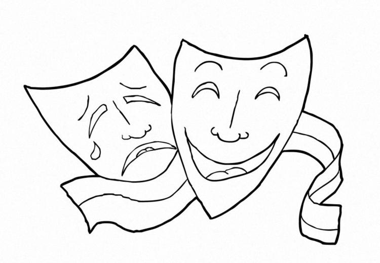 Dibujo Para Colorear Formaciã³n Musical Teatro Img 14918 Images
