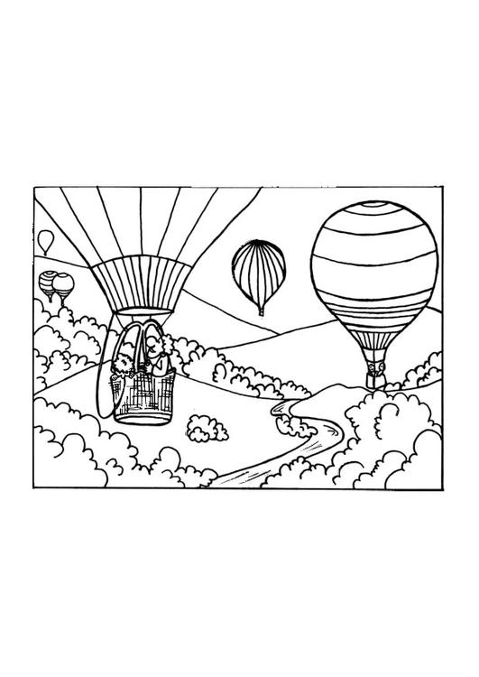 Dibujo Para Colorear Globo Img 9650 Images