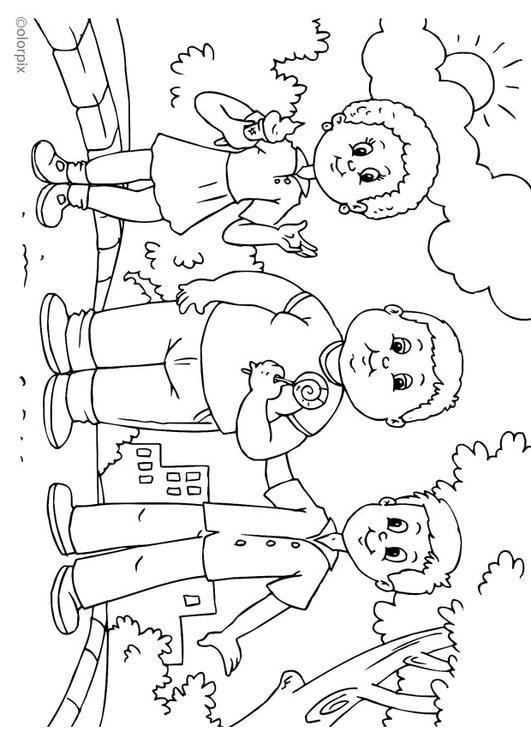 Dibujo Para Colorear Gordo Img 25900