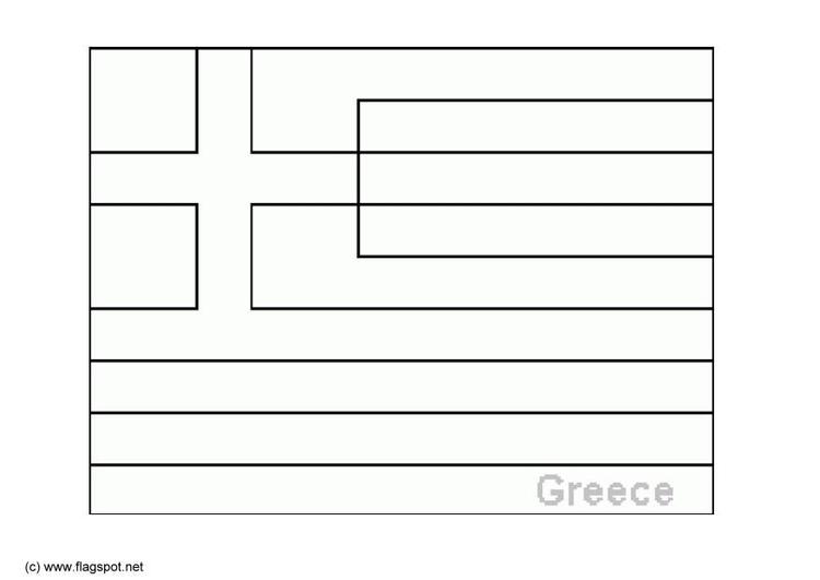 Dibujo para colorear Grecia - Img 6370