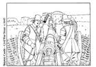 Dibujo para colorear Guerra civil