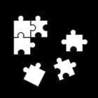 Dibujo para colorear Hacer puzles