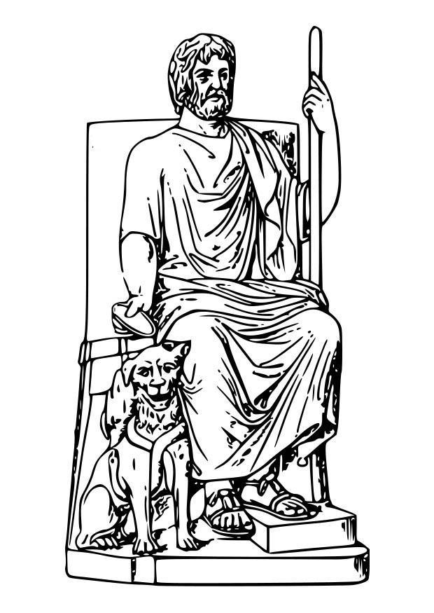 Dibujo para colorear Hades - Img 18593