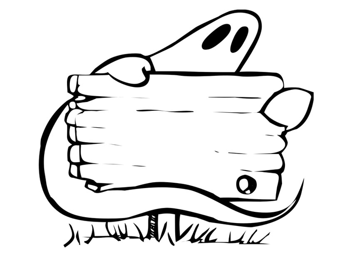 Dibujo para colorear Halloween - Img 28913