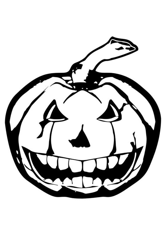 Dibujo para colorear halloween - Img 29822