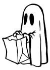 Dibujo para colorear Halloween