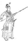 Dibujo para colorear Han Xin