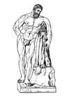 Dibujo para colorear Hércules