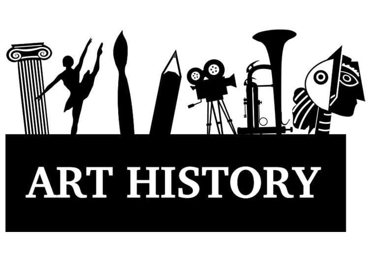 Dibujo para colorear historia del arte  Img 28449