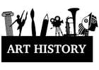 Dibujo para colorear historia del arte
