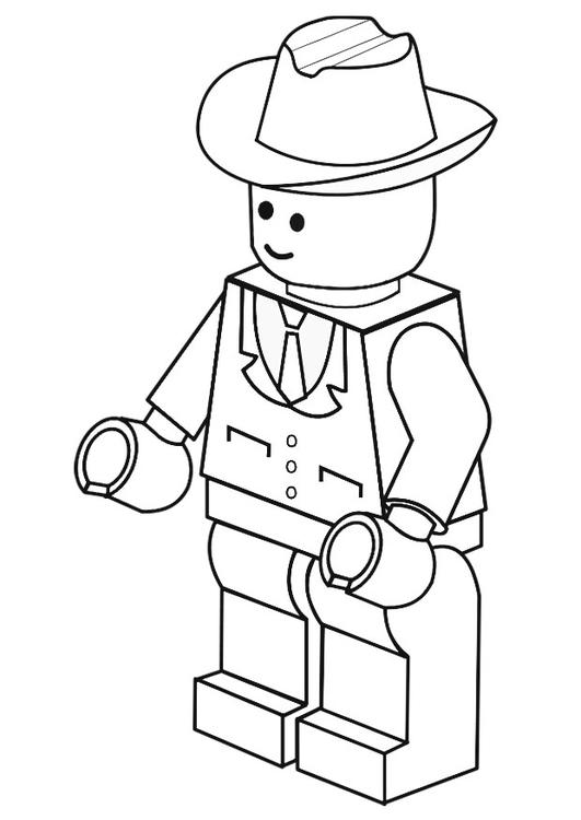 Dibujo Para Colorear Hombre De Negocios Dibujos Para