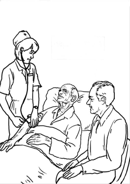 Dibujo Para Colorear Hospital Dibujos Para Imprimir Gratis