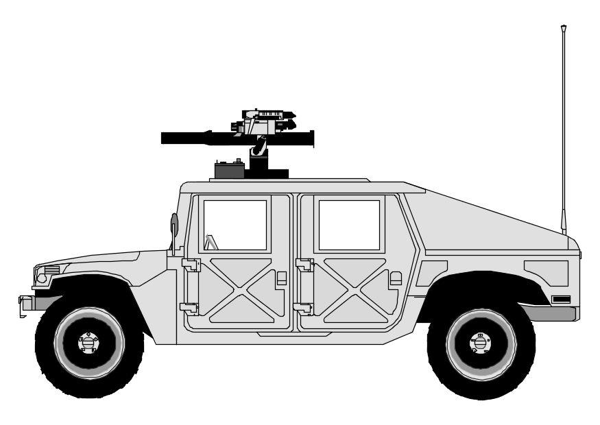 Dibujo Para Colorear Hummer