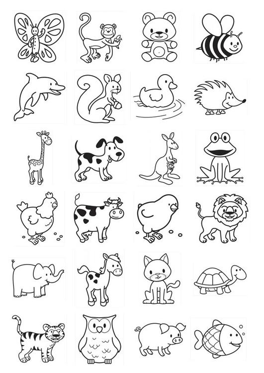 Dibujo para colorear iconos para niños - Img 20785