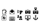 Dibujo para colorear iconos