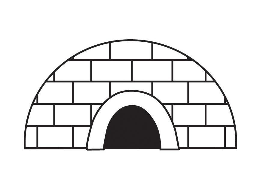 Dibujo para colorear igl  Img 23162