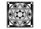 Dibujo para colorear Imagen judía
