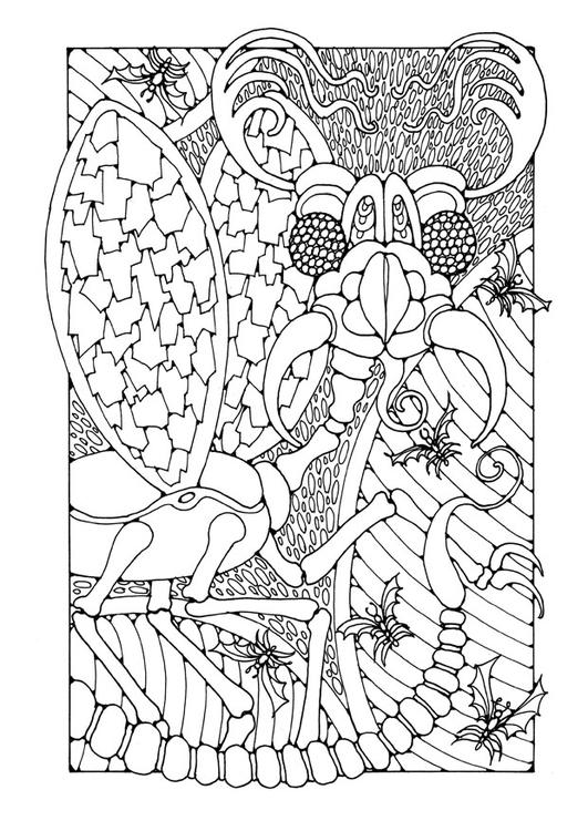 Paarden Kleurplaten Kleuren Dibujo Para Colorear Insecto Fant 225 Stico Img 25653