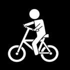 Dibujo para colorear Ir en bicicleta