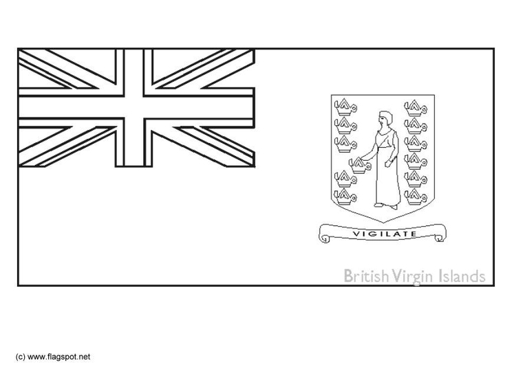 Dibujo Para Colorear Islas Vírgenes Reino Unido Img 6334
