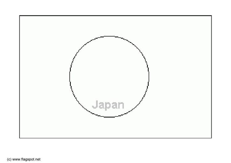 Dibujo para colorear Japón - Img 6286