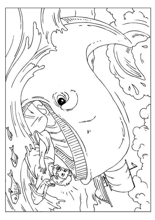 Dibujo para colorear Jonás - Img 25957