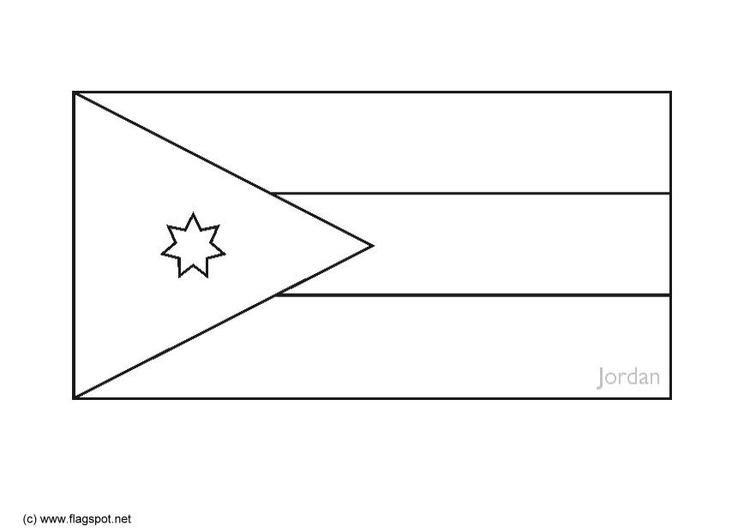 Dibujo para colorear Jordania - Img 6288