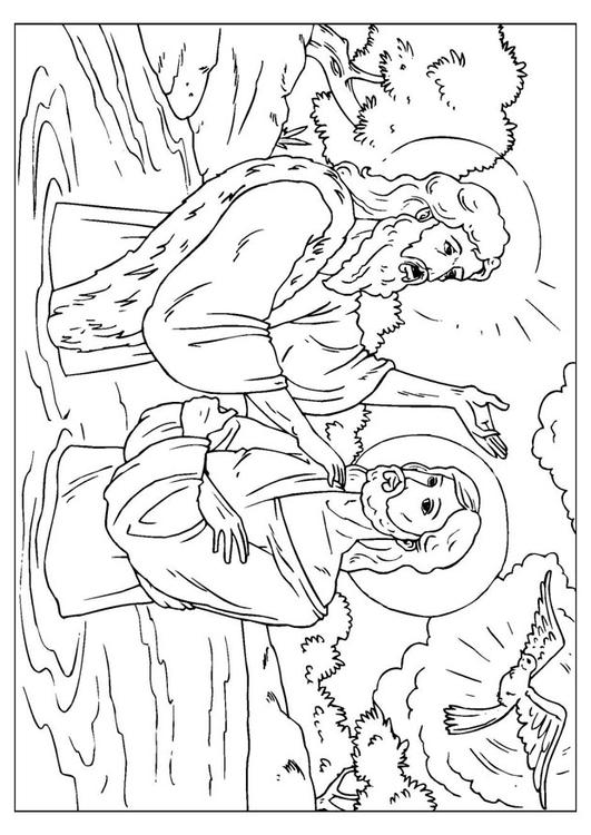 Dibujo Para Colorear Ju 225 N El Bautista Img 25914