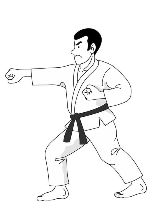 Imagenes De Deportes Karate Para Colorear Deportes Fichas Para