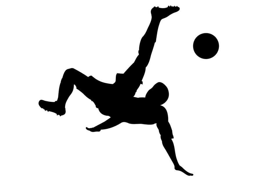 Dibujo Para Colorear Jugar Al Fútbol