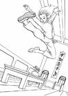 Dibujo para colorear Kung Fu