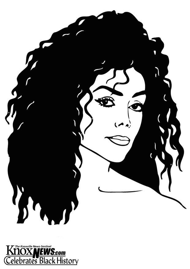 Dibujo Para Colorear Latoya Jackson Img 12867