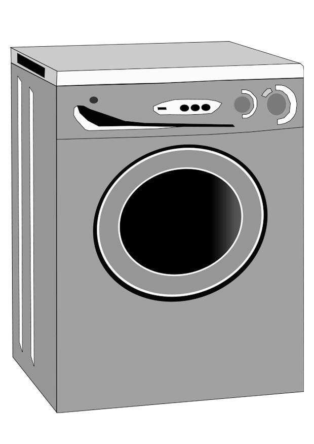 Dibujo para colorear lavadora img 22463 - Fotos de lavadoras ...