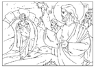 Dibujo para colorear Lázaro