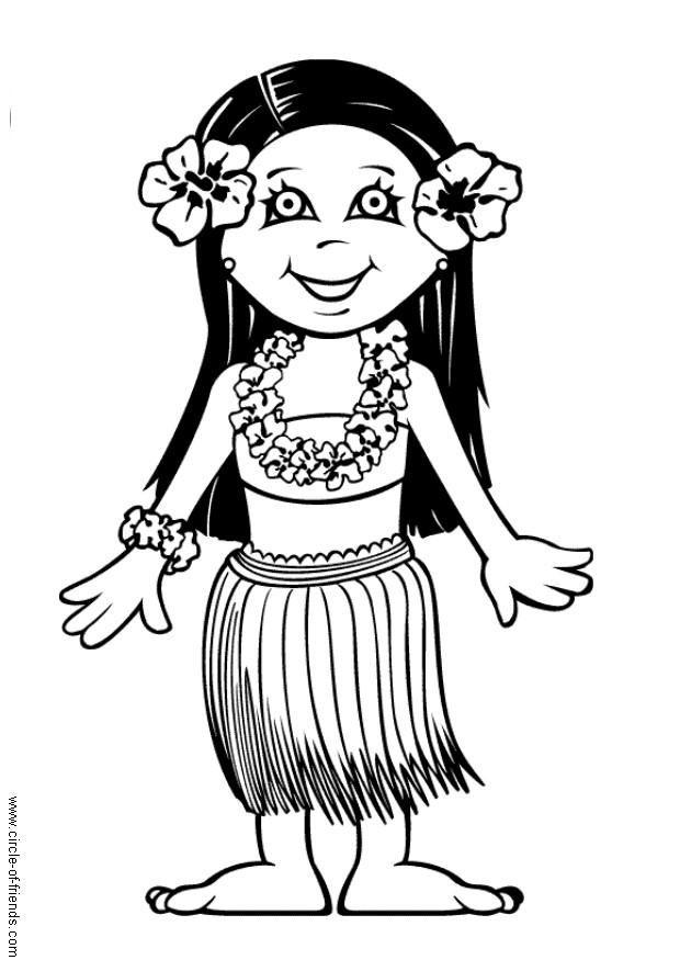 Dibujo Para Colorear Leilani Img 5632 Images