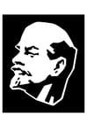 Dibujo para colorear Lenin
