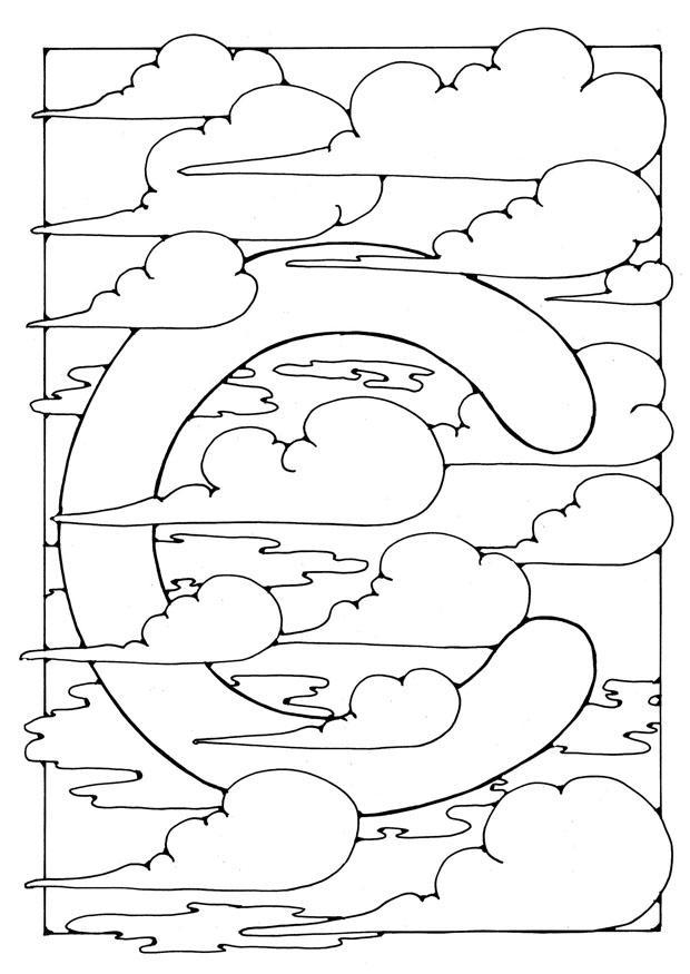 Dibujo Para Colorear Letra C Img 21889 Images