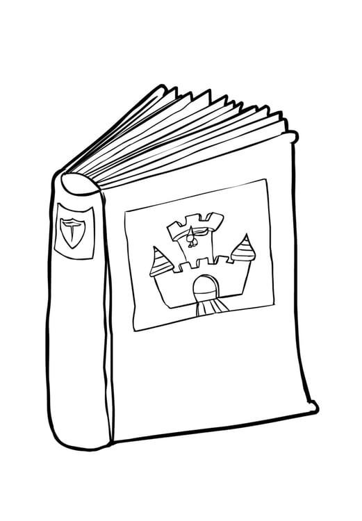 Dibujo para colorear Libro 2 (2) - Img 14834