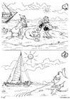 Dibujo para colorear Lobo marino