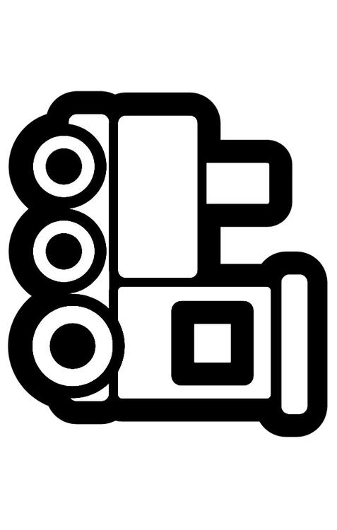 Dibujo para colorear locomotora - Img 28262