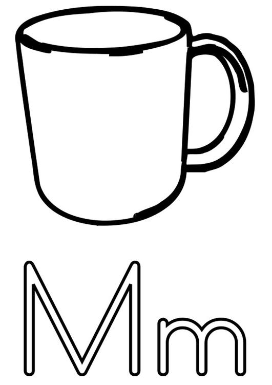 Dibujo Para Colorear M Dibujos Para Imprimir Gratis