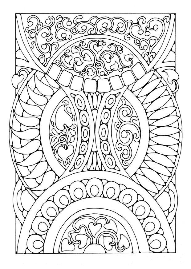 Dibujo Para Colorear Mandala3a Dibujos Para Imprimir Gratis