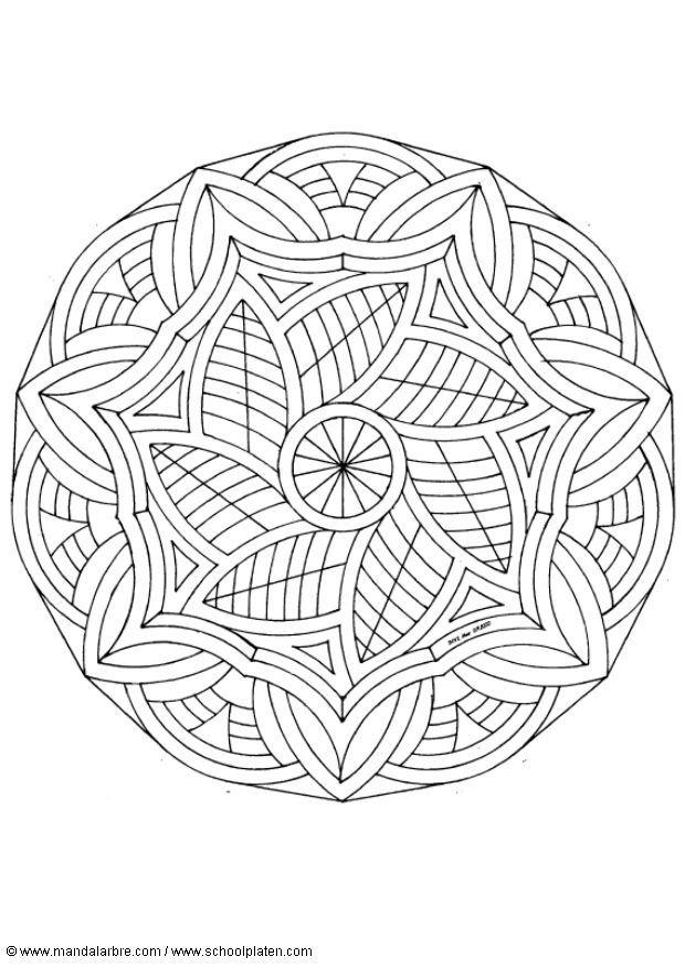 Volwassen Kleurplaten En Mandalas Dibujo Para Colorear Mandalas7 Img 4512 Images