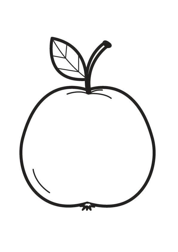 manzanas para colorear - Vatoz.atozdevelopment.co