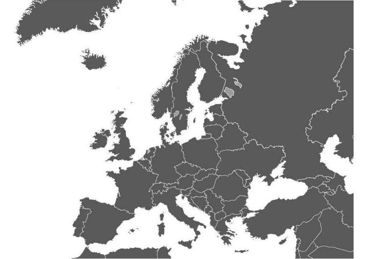 Dibujo Para Colorear Mapa De Europa Dibujos Para Imprimir