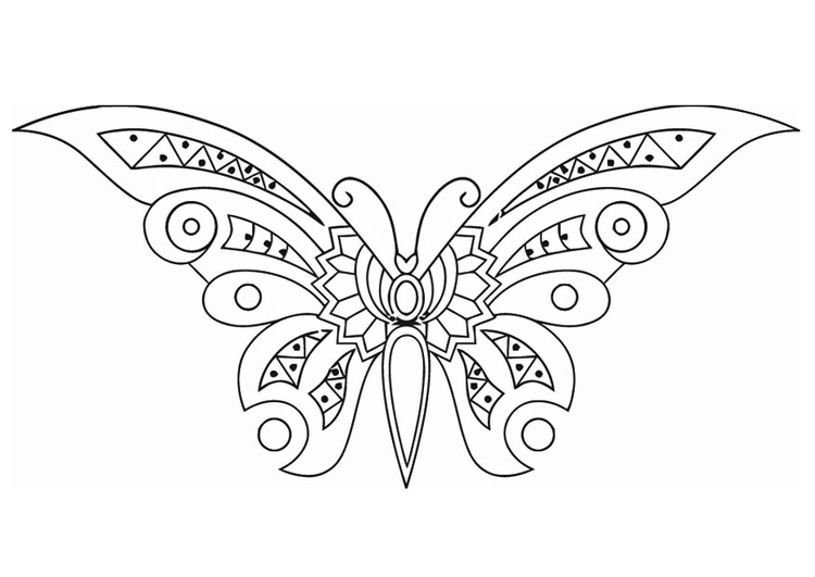 Volwassen Kleurplaten Vlinder Dibujo Para Colorear Mariposa Img 16585