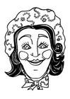 Dibujo para colorear Máscara Katrijn