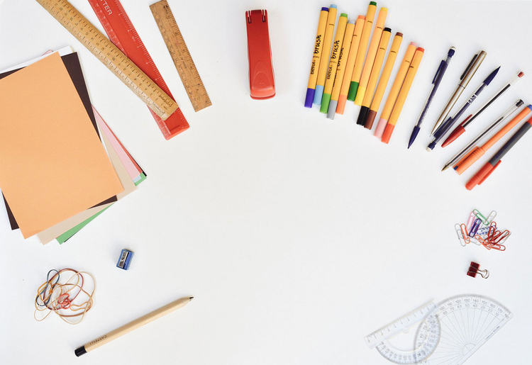 Dibujo Para Colorear Material Escolar Dibujos Para